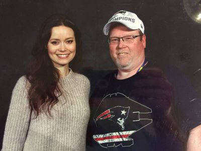 Summer Glau at Rhode Island comic con