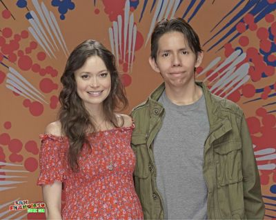 Summer Glau if you ever see this post, I wanna say thank you for this wonderful moment at Comic Con, you brighten my day this weekend, you are very kind and wonderful as well.