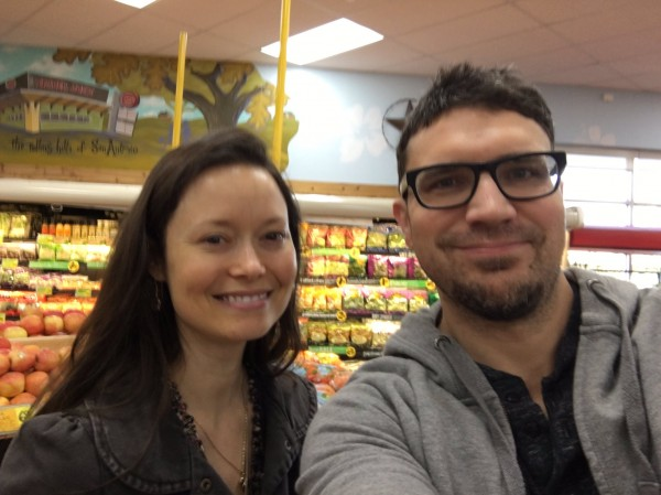Summer Glau photographed with fan in San Antonio