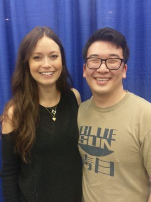 As a guy, I don't get too many compliments on my clothing, little less from Summer frickin' Glau!