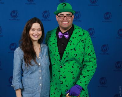 Summer Glau was really nice to meet.