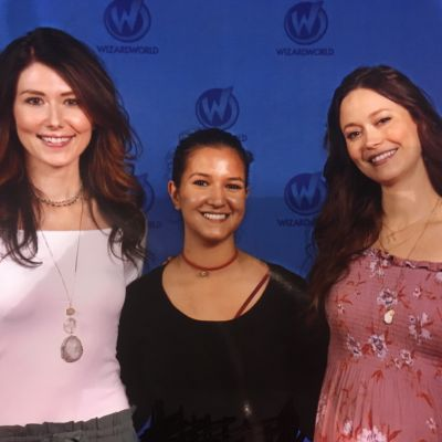 I was actually kind of nervous in this one. Firefly duo with Jewel Staite and Summer Glau.