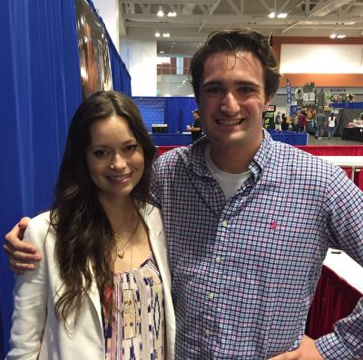 I had the humble pleasure meeting actress Summer Glau! She is beautiful and nice in every way!