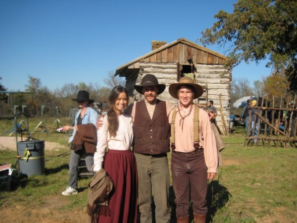 Behind the Scenes photo of Summer Glau on set of The Legend of Hell's Gate