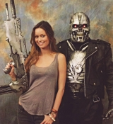 Summer Glau and Terminator Cosplay at StarFest 2010