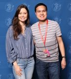Photo ops with Summer Glau from Arrow and Terminator the Sarah Conner chronicles