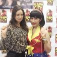 Don't really care for my face in this photo but I got meet Summer Glau!!!! She was the sweetest!! #ACCC