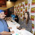 Today's fun filled day at Alamo City Comic Con had a blast got meet Summer Glau