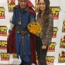 Me and Summer Glau at comic con