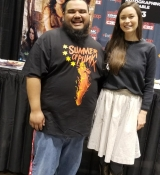 Summer Glau & Me. Been wanting to meet her at so many cons but never did till now. Totally worth it.