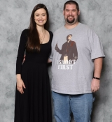 My photo op with Summer Glau! She told me she loved my shirt!