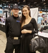 Ended my stay at #C2E2 with this surprise opportunity. I was totally geeking out but tried to stay calm for this quick shot. A thousand thank yous to #summerglau for saying yes to the photo.
