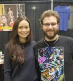 Images of Summer Glau's last day at Cincinnati Comic Expo