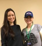 Fan-girl moment with Summer Glau in the Green Room at Cincinnati Comic Expo