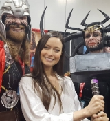 Proof that Summer Glau is truly worthy to wield Mjolnir!