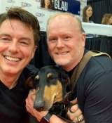 Looks like John Barrowman is having a great time at FAN EXPO Dallas.