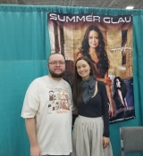Images of Summer Glau from GalaxyCon Louisville