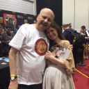 I meet Summer this weekend at Comic Con - London.  I have just got back<br />home, but thought I would send you a picture of Summer giving me a hug