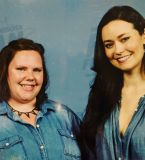 In unison: We coordinated! Does that count as sharing a moment with Summer Glau? Yeah, probs.
