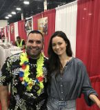 Met the beautiful Summer Glau at @MotCityComicCon and got her autograph for the start (hopefully) of my Firefly collection. Also picked up some new art for the basement walls