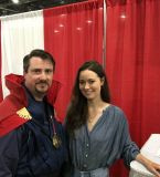 Summer Glau is now archived in Doctor Strange's personal photo album! She is such a sweetheart!<br />