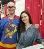 Summer Glau at the Motor city Comic Con