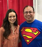 So Awesome to meet Summer Glau from Firefly, Serenity, and Terminator: The Sarah Connor Chronicles.