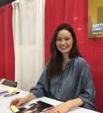 Went to the 2018 Motorcity Comicon today...Met Summer Glau and got her autograph...she is best known as River in the Firefly series/movie & the Terminator in The Sarah Conner Chronicles...she is very sweet and was a pleasure to meet!!!