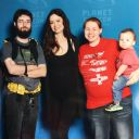 Summer Glau was a doll! She spent most of our time together talking to Casen