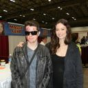 I also met Summer Glau. Another person who is incredibly nice.