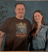 Fan photos of Summer Glau at Savannah Comic Con