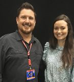 It's always nice to get the chance to get reacquainted with awesome people who I've been fortunate enough to meet at previous shows, and Summer Glau is no exception - she's a genuine sweetheart!