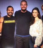 Juliana Harkavy, Carlos Valdes, Stephen Amell , Summer Glau and Matt Ryan at Supanova Sydney