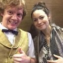 Meeting Summer Glau in the elevator at Chicago....