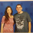 Just met Summer Glau. It was great to meet her. Shes very nice.