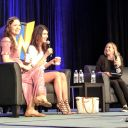 Summer Glau and Jewel Staite talking about how amazing it is that #Firefly fans are passing the show down to their kids now. #WizardWorld