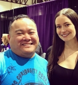 Images of Summer Glau from Reno Pop Culture Con